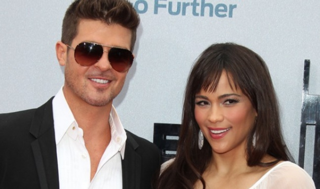 One of Hollywood's enduring love stories has been put on ice. Actress Paula Patton and her husband Robin Thicke have separated. The couple, who've been together since they were teens, welcomed their only child, Julian Fuego, in April 2010. They're also now on our long list of shocking celebrity splits: